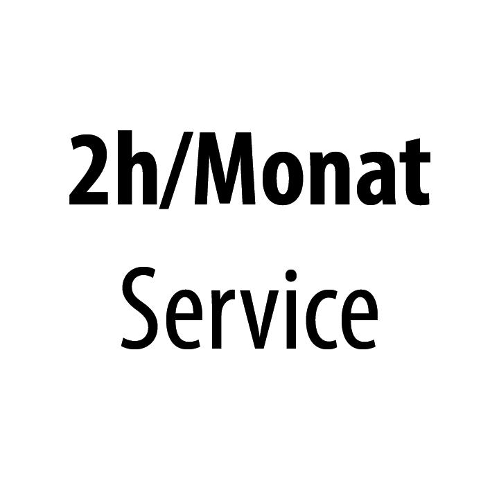 2h pro Monat Service
