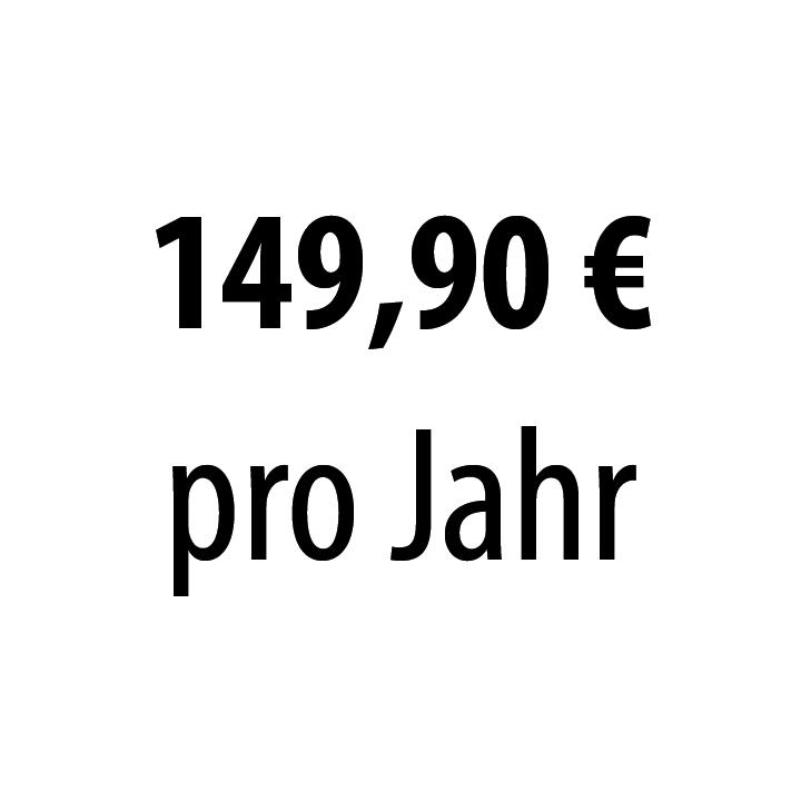 149,90 pro Jahr